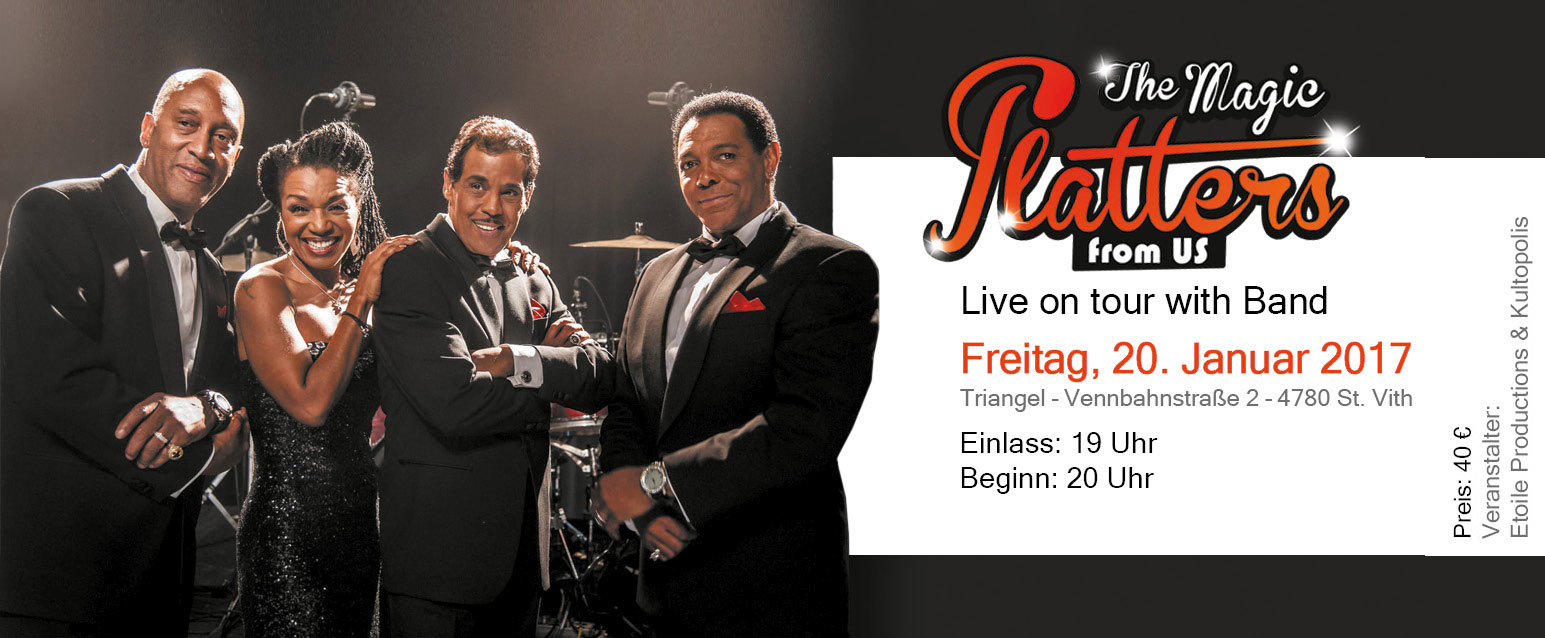 The Magic PLATTERS - Memories tour
